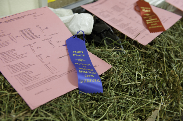 Forage Entries with Ribbons