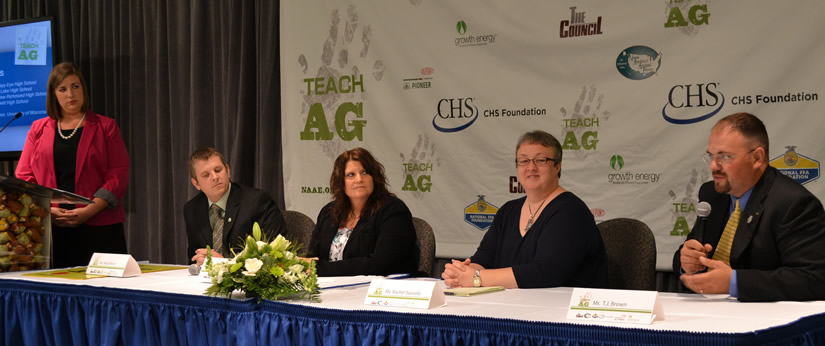 UWRF Alumni Participate in National Teach Ag Panel Moderated by Current Student McKenzie Baecker