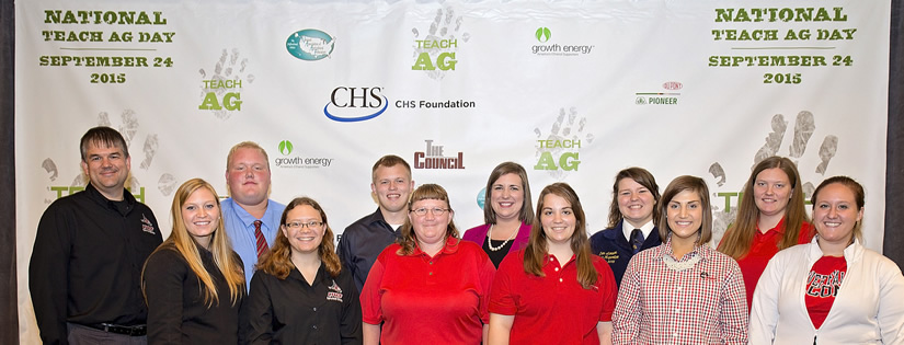 UWRF students attend 2014 National Teach Ag Day Event held at CHS Headquarters