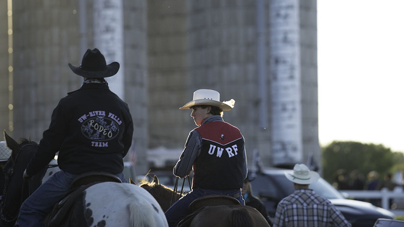 Falcon Frontier Rodeo Students Silos