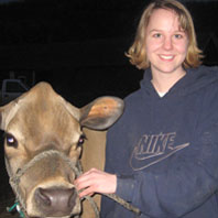 Londa Johnson, Dairy Science Alumnus