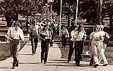 Field Era Students Walking