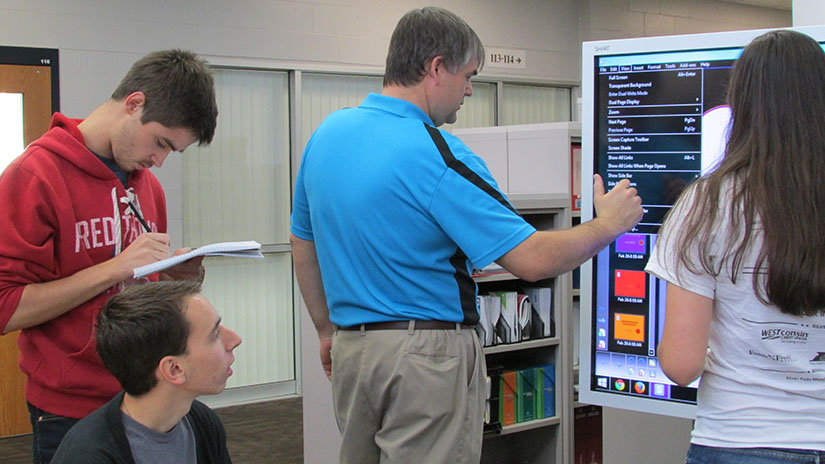 Ag Ed smart board activity course