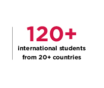 120 International Students