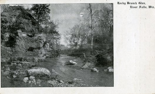1912 - Rocky Branch Glen in River Falls
