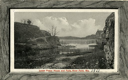 1913 - Lower power plant