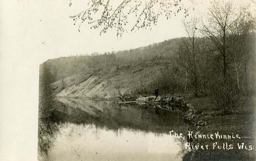 The Kinnickinnic in River Falls, n.d.