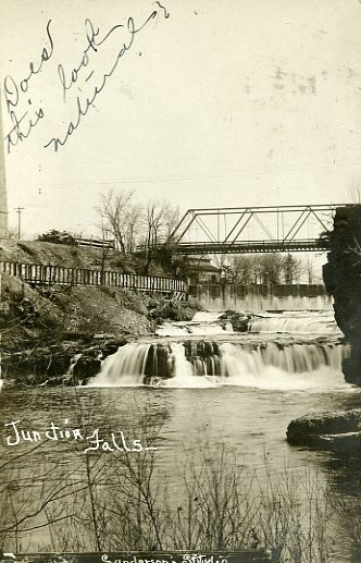 Junction Falls in 1908