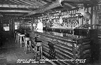 Webb Lake bar
