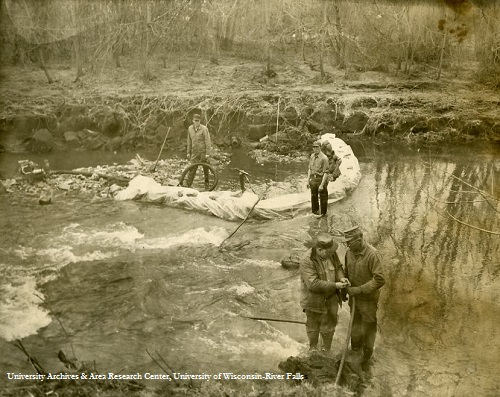 1965 Flood, sewer repair in the Kinni