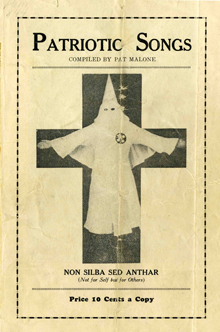 Patriotic Songs of the KKK
