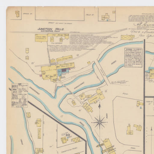 1884 Sanborn Map of River Falls, page 1