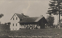 """Hunky Dory"" Farm, dining hall, ca. 1915."