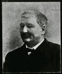 Frank D. Harding 1902 obituary portrait