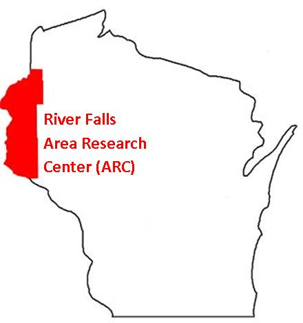River Falls ARC map