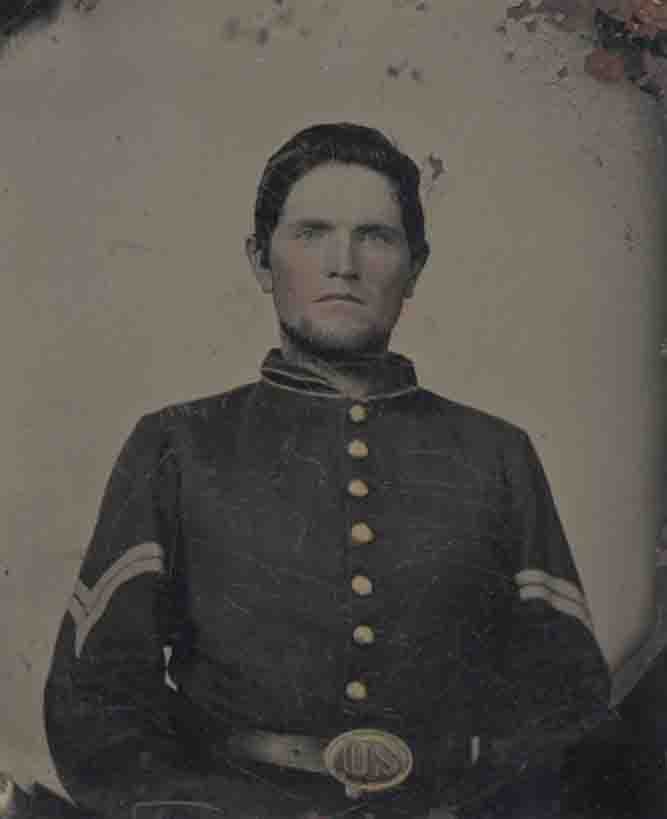 Civil War Soldier, Davidson Photograph Collection