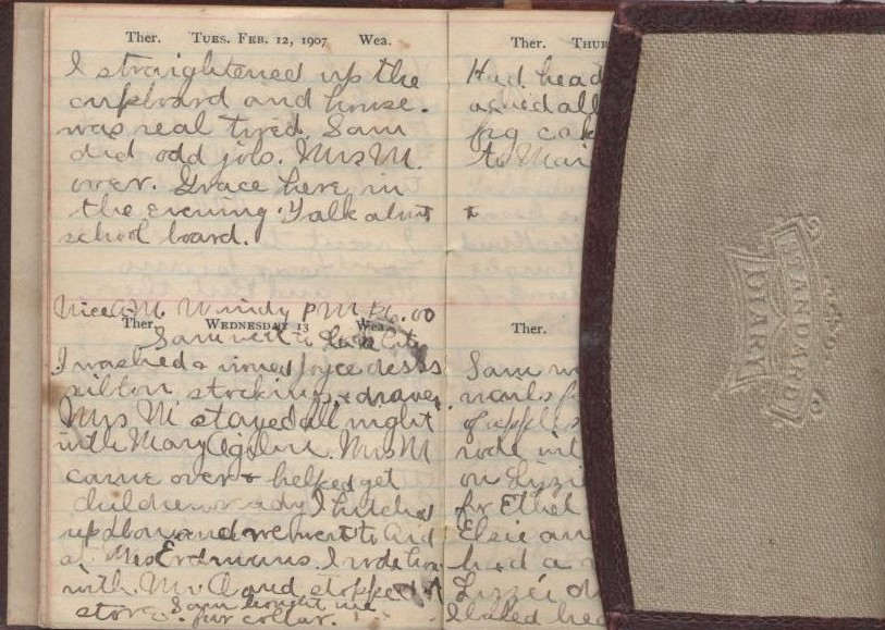1907 Diary of Edna J. Gerrish