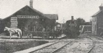 Grantsburg train depot