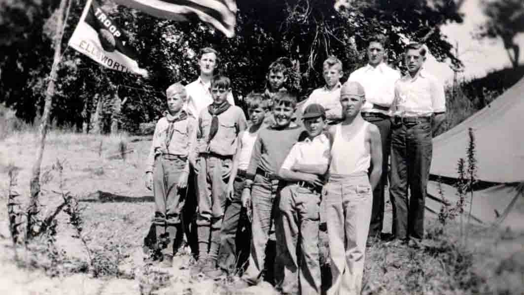 Ellsworth Boy Scouts, Hoffman-Foley Photograph Collection