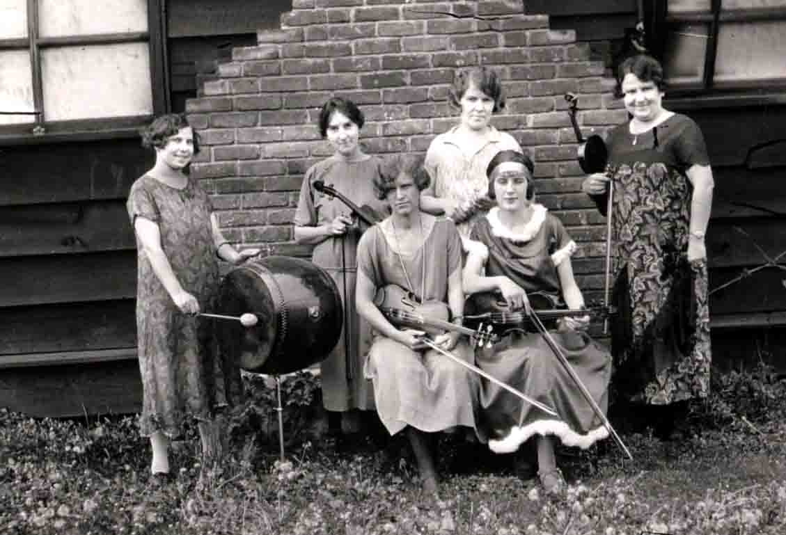 Women musicians, Jacobson Photograph Collection