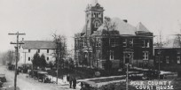 Polk County Courthouse ca. 1918
