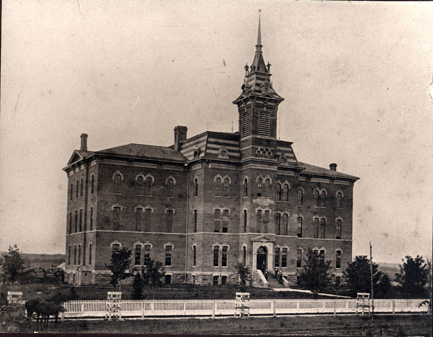 South Hall ca. 1875