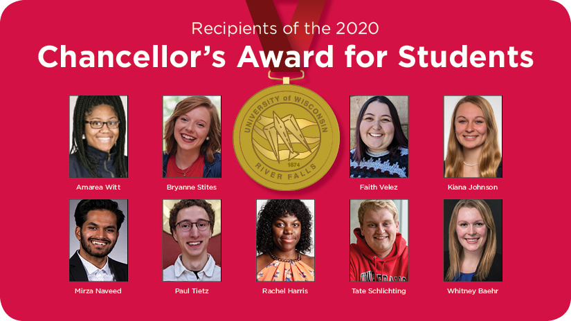 2020 Chancellor's Award for Students Winners