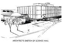 Artists sketch of AGS 1965