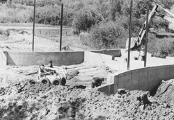 Building the Amphitheater Bandshell