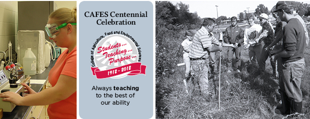 "CAFES Centennial Celebration: ""Always teaching to the best of our ability."""