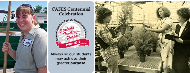"CAFES Centennial Celebration: ""Always so our students may achieve."""
