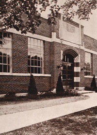 Industrial arts bldg 1934