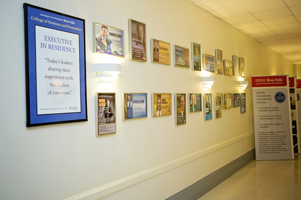 Executive in Residence wall