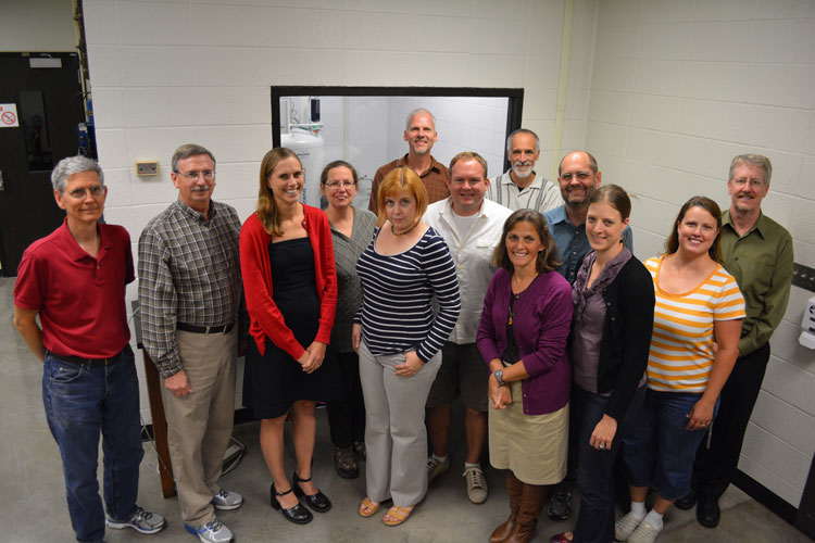 UWRF Chemistry Faculty Photo 2015