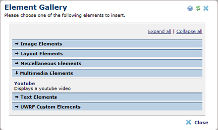 You Tube Element
