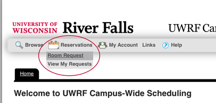 Reservation Room Request