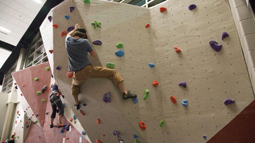 Climbing Wall | University of Wisconsin River Falls