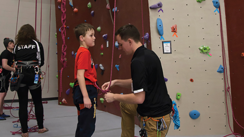 Learn to belay