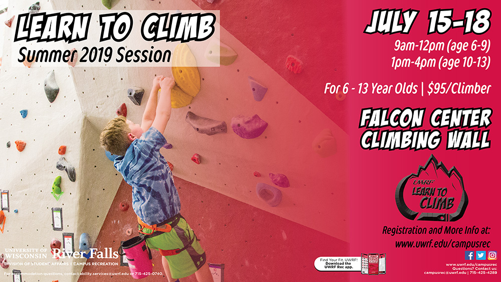 Learn to Climb summer 2019