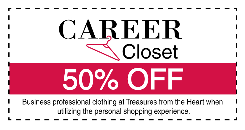 Career Closet Coupon