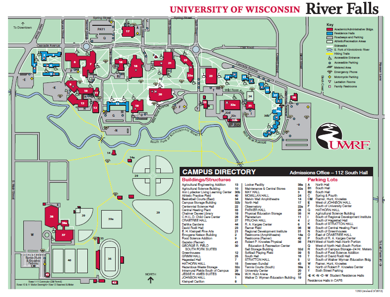 Visit Campus University Of Wisconsin River Falls