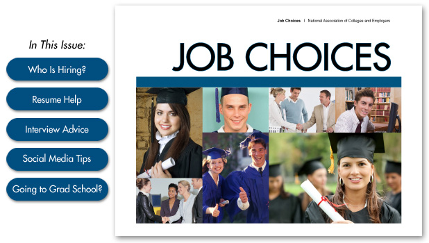 Job Choices 2013