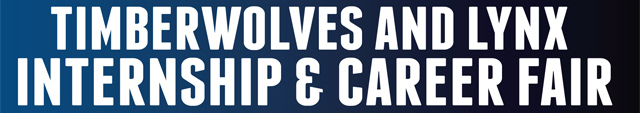 Timberwolves Lynx Career Fair Logo