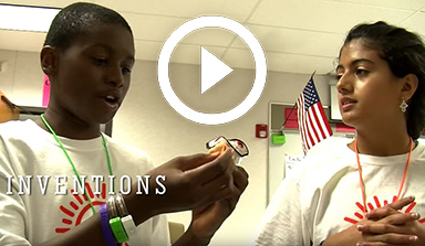 Invention Project STEM summer camp for middle school students
