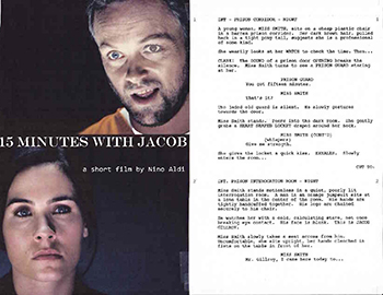15 Minutes With Jacob, screenplay by Joseph Rein