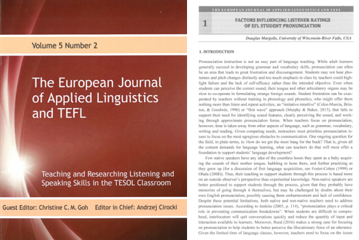 European Journal article by Douglas Margolis