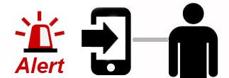 Alerts Phone Icon Self