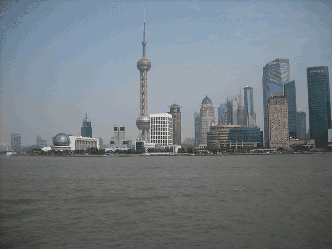 Shanghai is about an hour from Hangzhou by train.