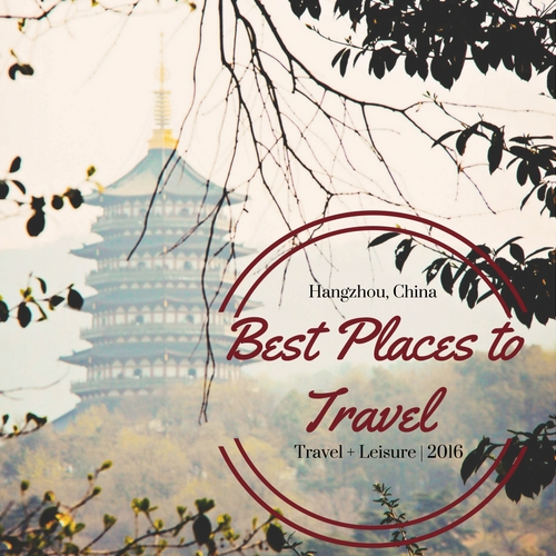 Hangzhou travel award
