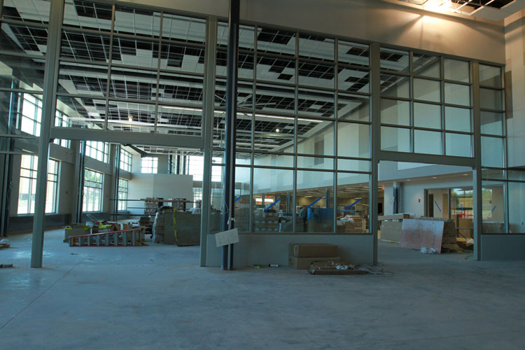 Fitness Center Construction